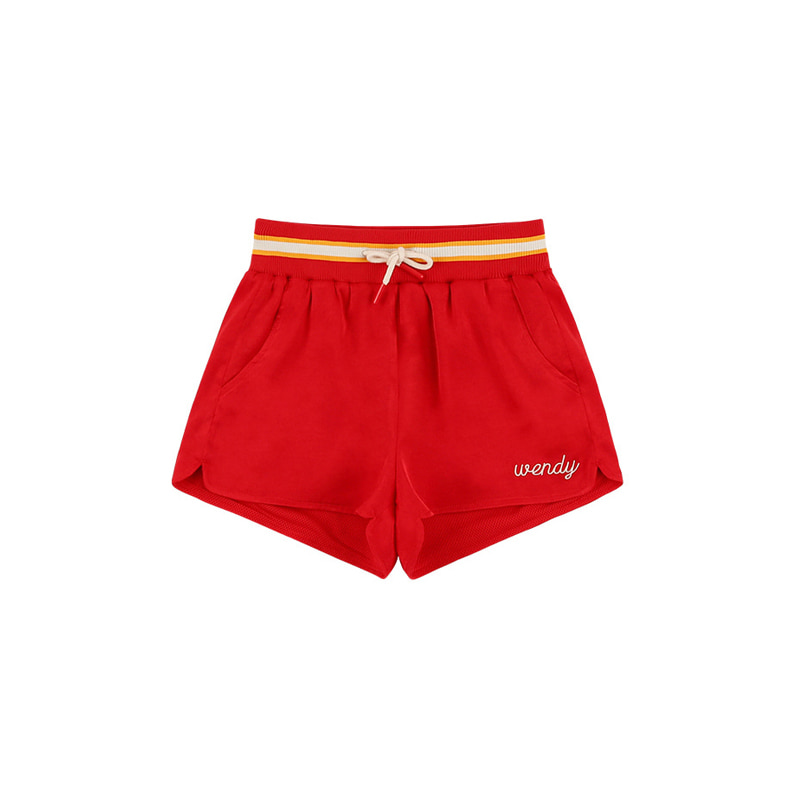 아이스비스킷 - Wendy satin track shorts 20% sale