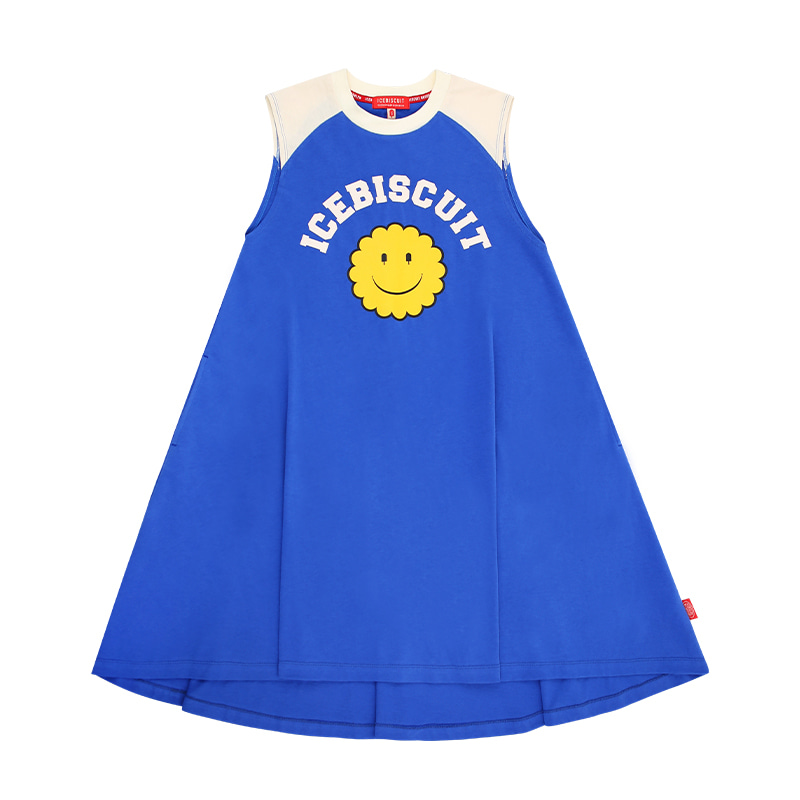 아이스비스킷 - Icebiscuit smile raglan sleeveless dress
