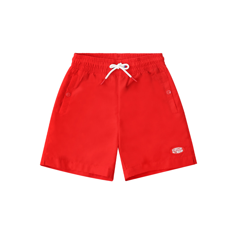 아이스비스킷 - Icebiscuit logo patch nylon shorts 30% sale